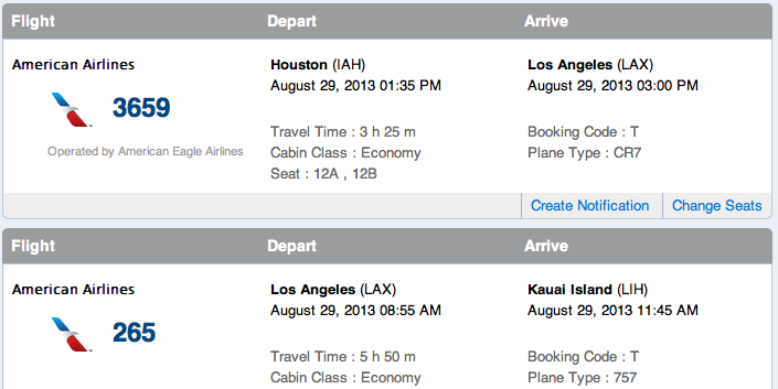 AA change Lessons learned from an unforeseen American Airlines schedule change