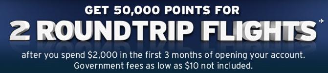 southwest 50000 points