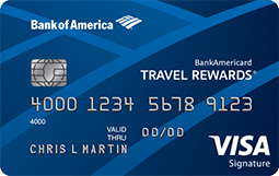 Bank of America Travel Rewards Visa