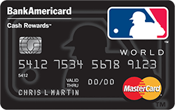 BankAmericard Cash Rewards Mastercard