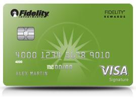 fidelity visa signature