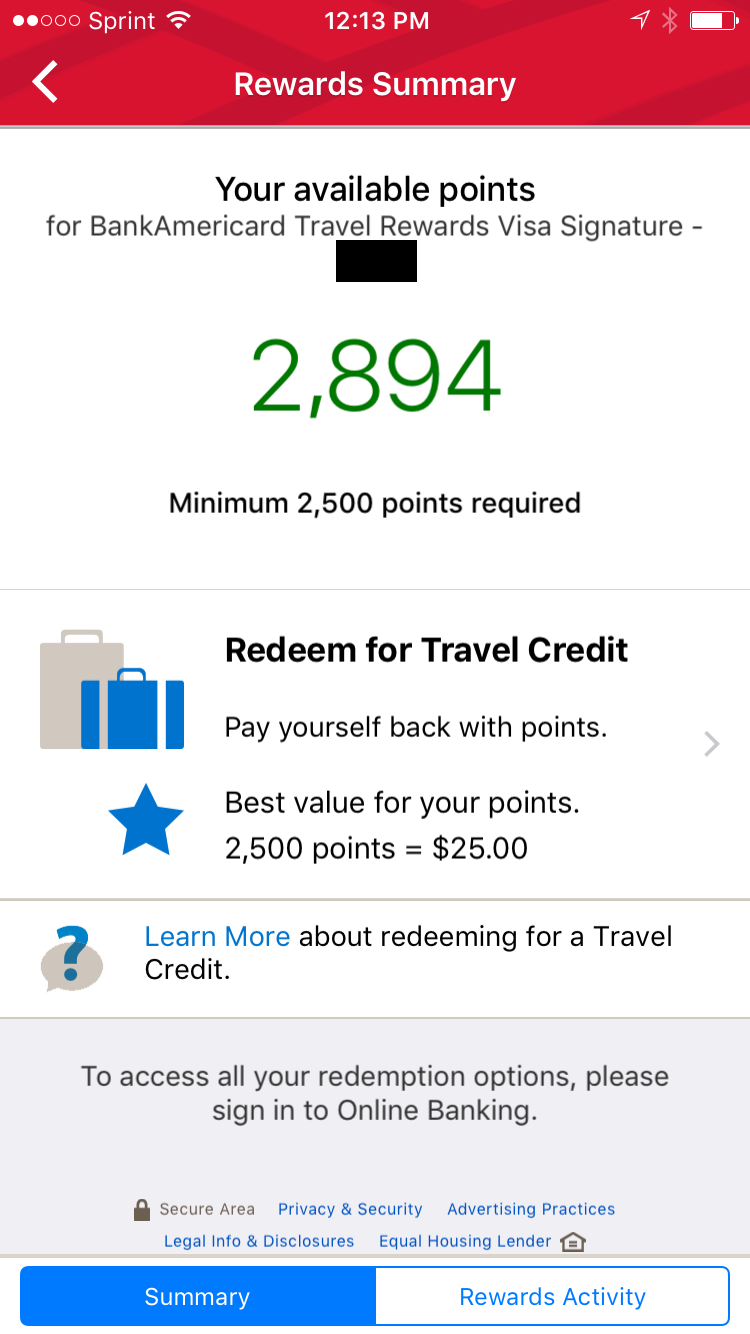 redeem travel rewards 1